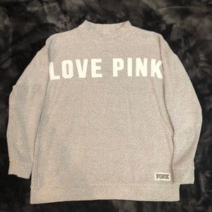 PINK Victoria's Secret Gray Sweater